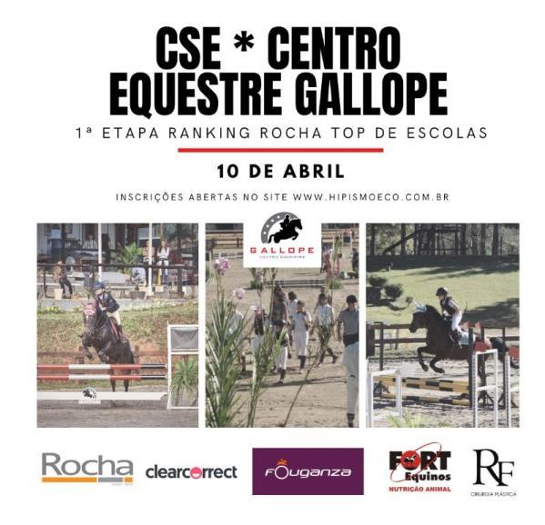 Confira a programação do CSE Centro Equestre Gall