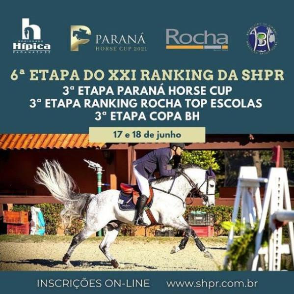Nova data para a 6ª Etapa do Ranking SHPr