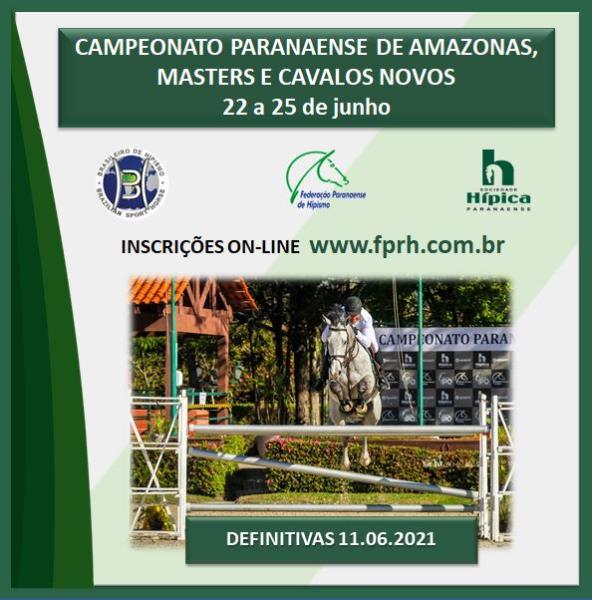Campeonato Paranaense de Amazonas, Masters e Cava